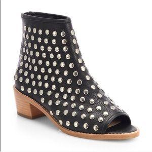 Loeffler Randall Shoes - Loeffler Randall Ione-Studded Open Toe Ankle Boot